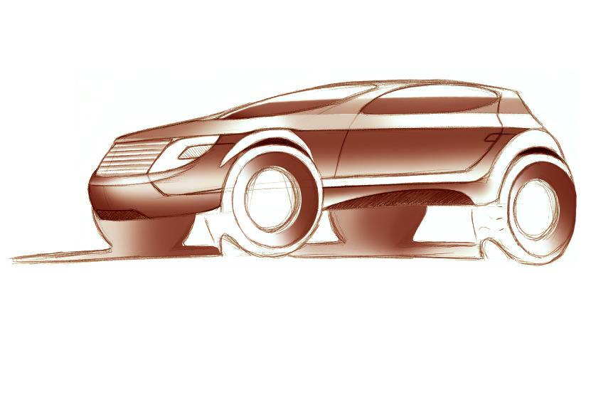 SUV Sketch... by dezigNergy