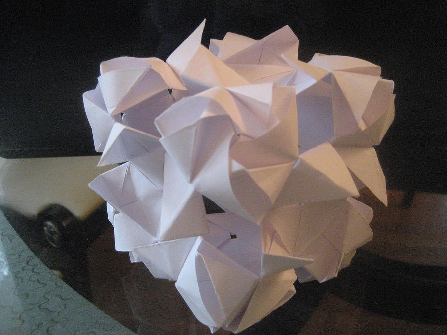 Origami Magic Rose Cube Cubed By Musicmixer112 On Deviantart