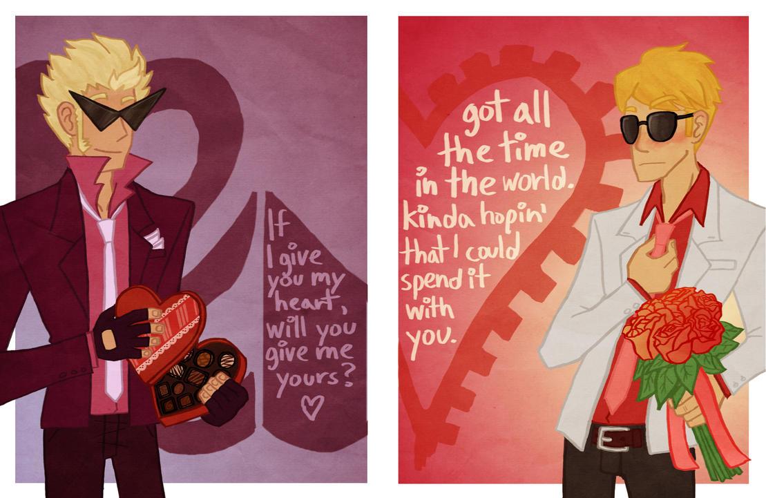 Striders Valentines by An-die-Freude