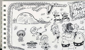 doodle-y pen doodles