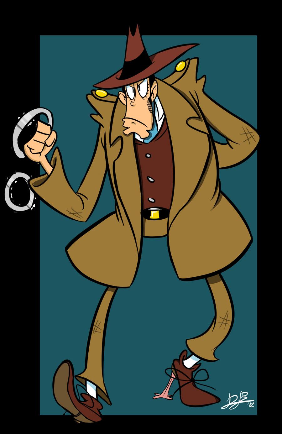 Inspector Zenigata by RedBlooper