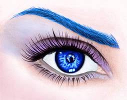L'Oreal Mascara Blue Make-Up by tapena