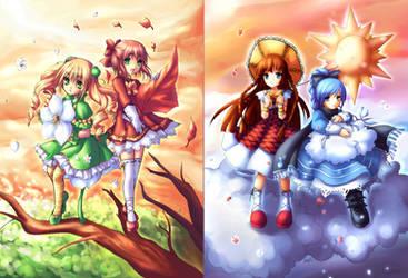 four seasons by Amuria
