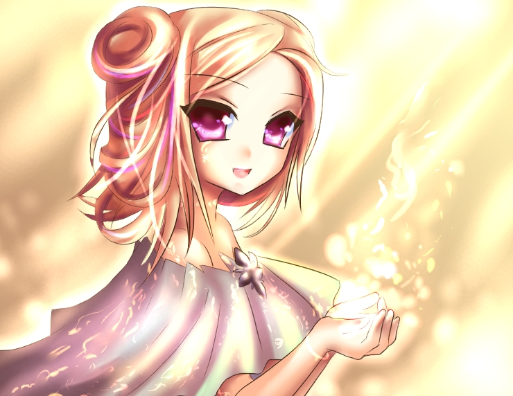 light girl by Amuria