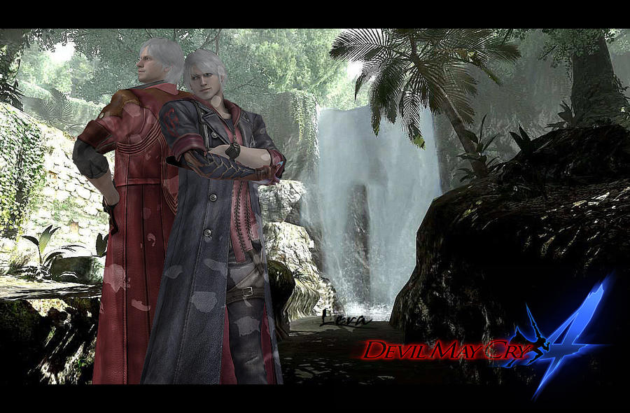 Devil may cry 4 - friends by Light-Ferron