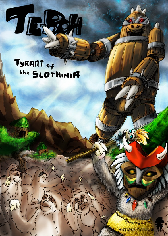 Te-Boh_Tyrant_Of_The_Slothinia by GrapheeD