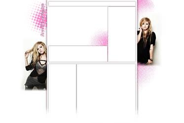 Avril Lavigne YT Layout by blubbafish
