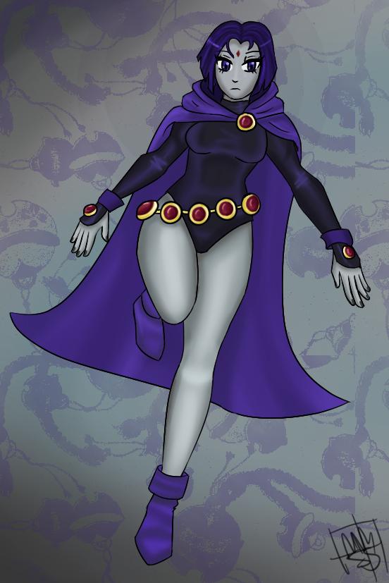 Raven by Stubbornstallion
