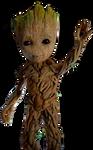 Baby Groot Render 4