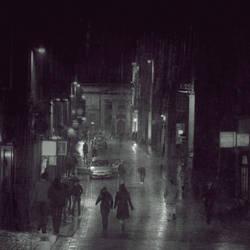 busy street by AlicjaRodzik