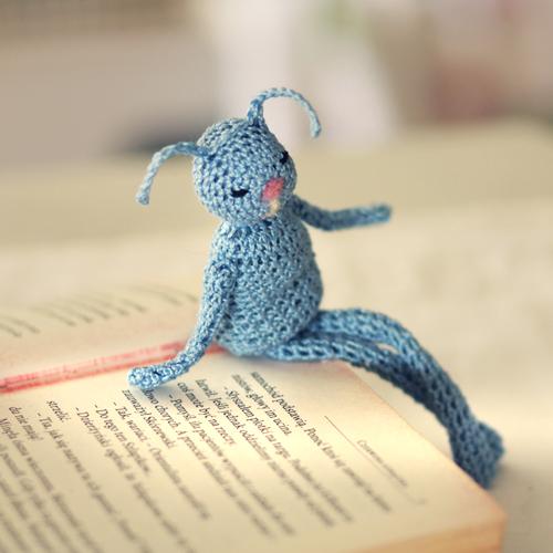 Blue Books Eater by AlicjaRodzik