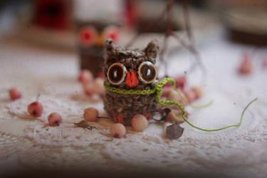 Autumn Owl by AlicjaRodzik