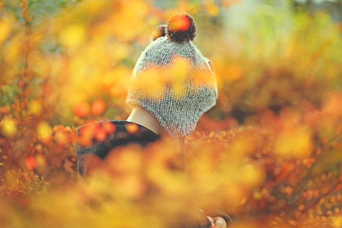 it's autumn, little bear by AlicjaRodzik