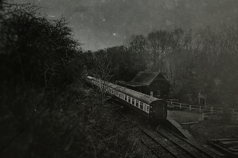night train * by AlicjaRodzik