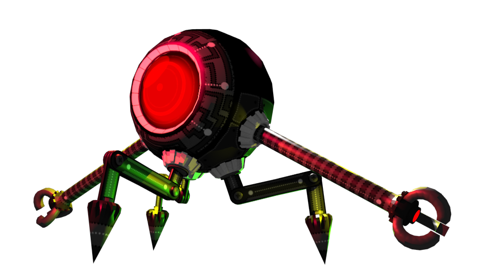 Sphere Robot Spider by Volcanic-Penguin