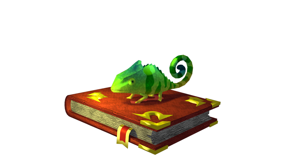 Chameleon by Volcanic-Penguin