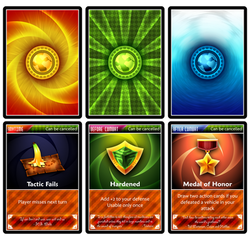 Back And Action Cards