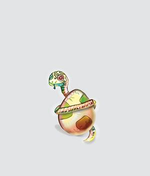 Snake And Egg