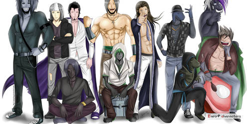 Minos-23's Characters by ArikarinUp
