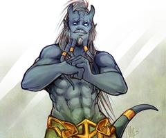Sketch Commission - Modest Monster