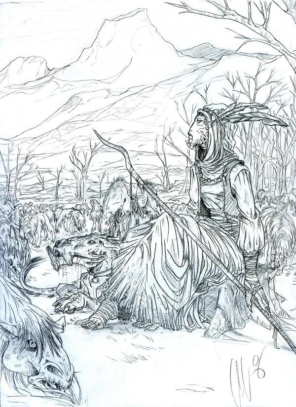 Kaleesh sheperd by Iseijin