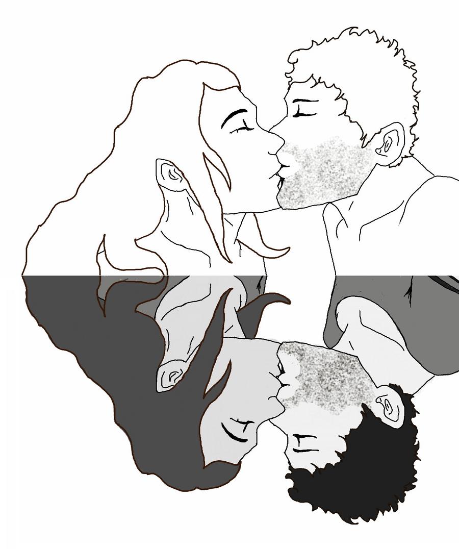The Kiss - Flip by Faith-Bailey