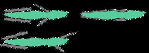 Progenitor Frigate Pylon Configuration Concepts by Goddess-Marissa
