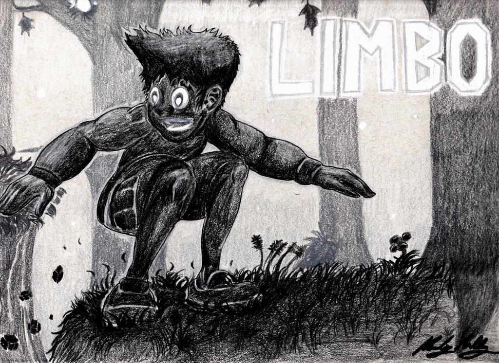 Bounding Through the Woods (a Limbo fanart) by Randy-Ghoti