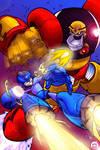 Mega Man retouched