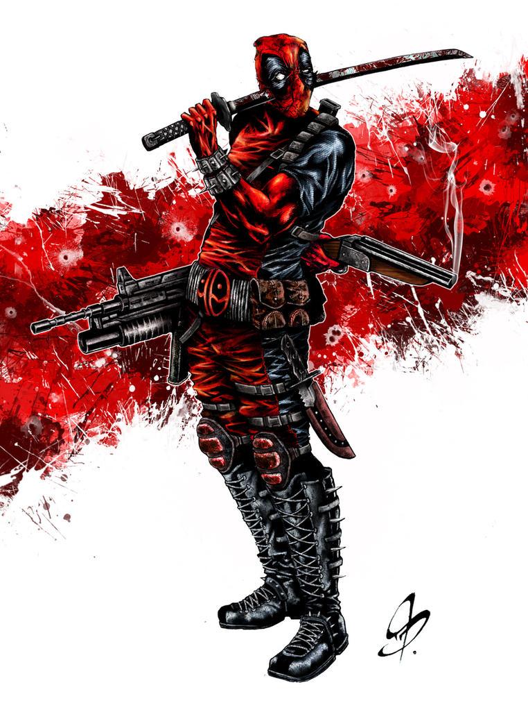 Deadpool by dividistus