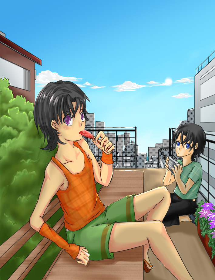 MCL: Alexy and Armin by Littlegrazygirl