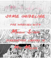 Manga Studio Guidelines by quybaba