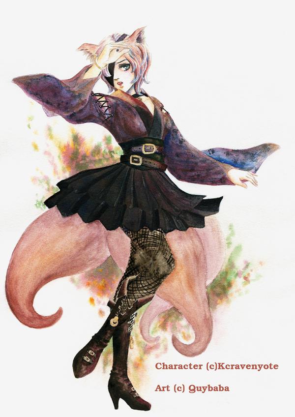 Commission Shizuka by quybaba