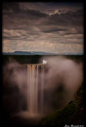 Kaiteur Falls at Dusk by jmbroscombe