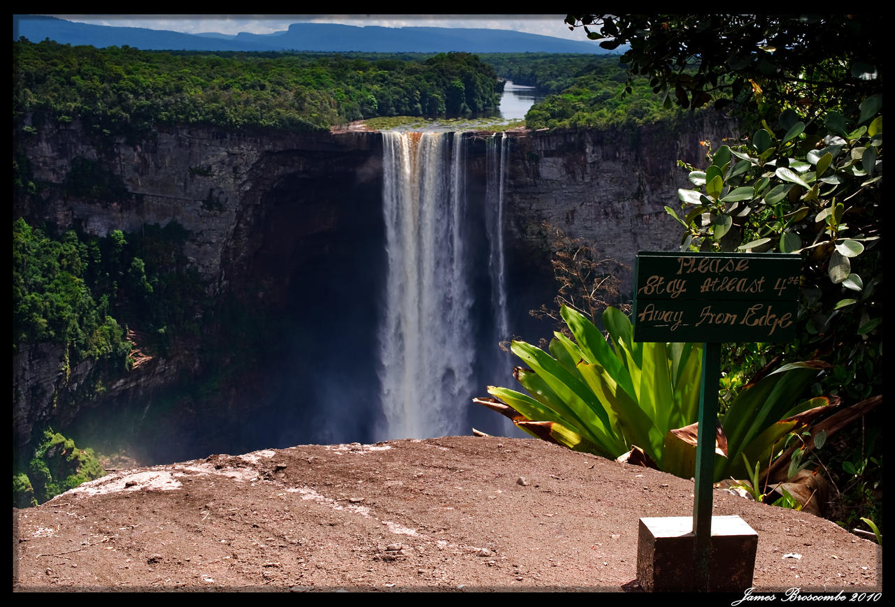 Kaiteur Falls - Johnson's View by jmbroscombe