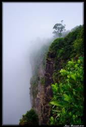Kaiteur in Mist by jmbroscombe