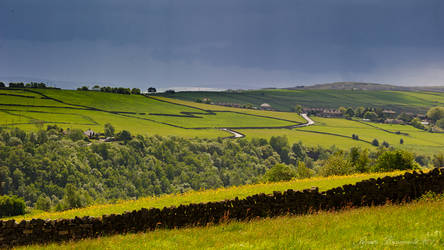 The road to Slack Village by jmbroscombe