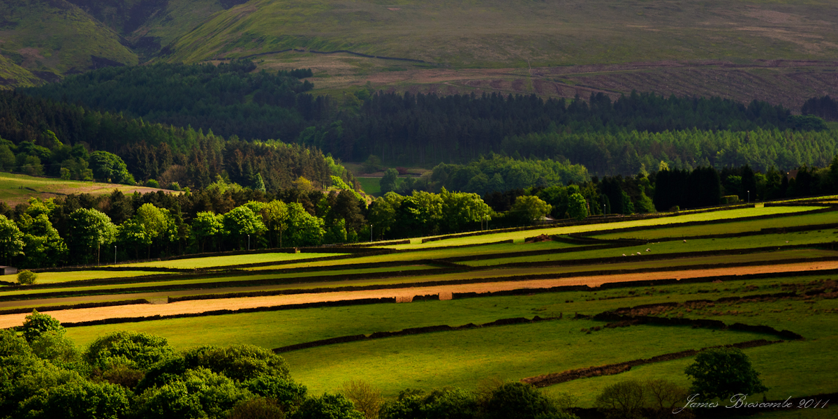 Fields and Moorland by jmbroscombe
