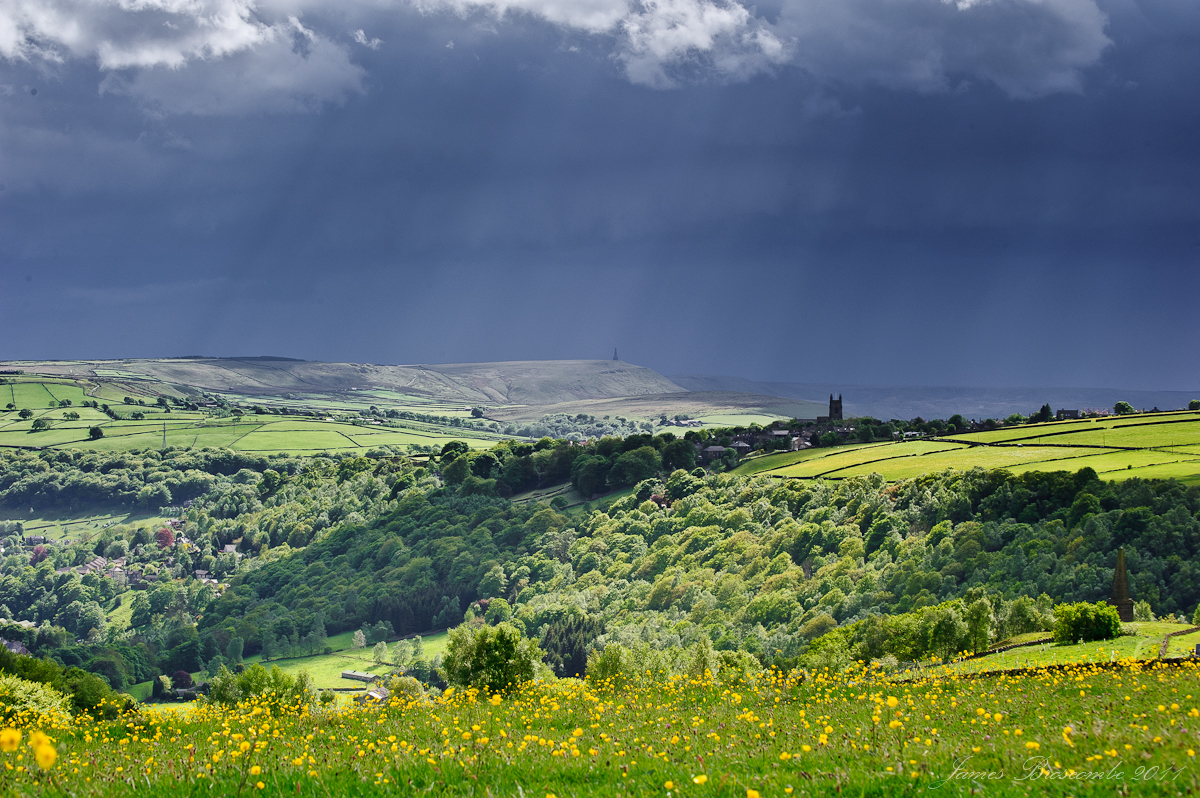 Storm over Heptonstall by jmbroscombe