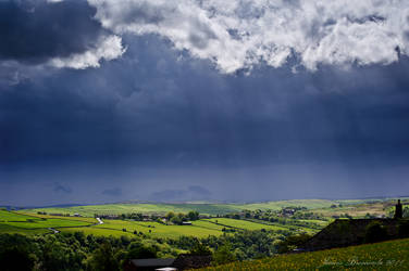 Rain coming...
