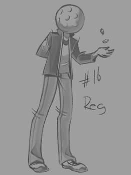 30 character challenge - Reggie