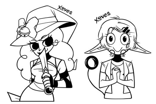 365 Sketches Year 2: Commission Batch 1