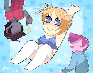 fionna and bikini by daughter-thursday