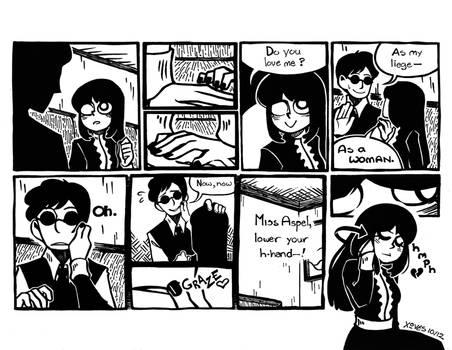 Inking Test, Comic Edition
