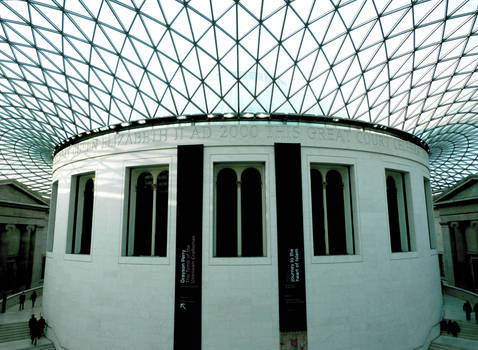 Courtyard at the British museum