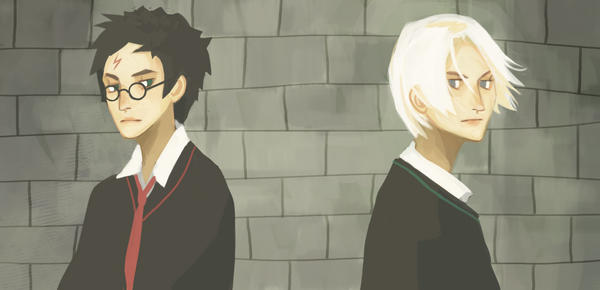 Harry and Draco by Furipon