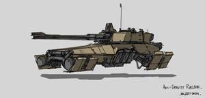 Anti-gravity Railgun