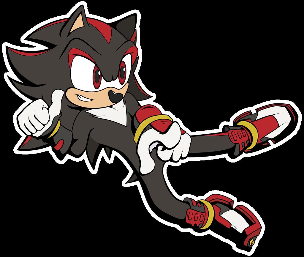 Sonic boom shadow the hedgehog by silverrevolt on deviantart - Shadow sonic boom ...
