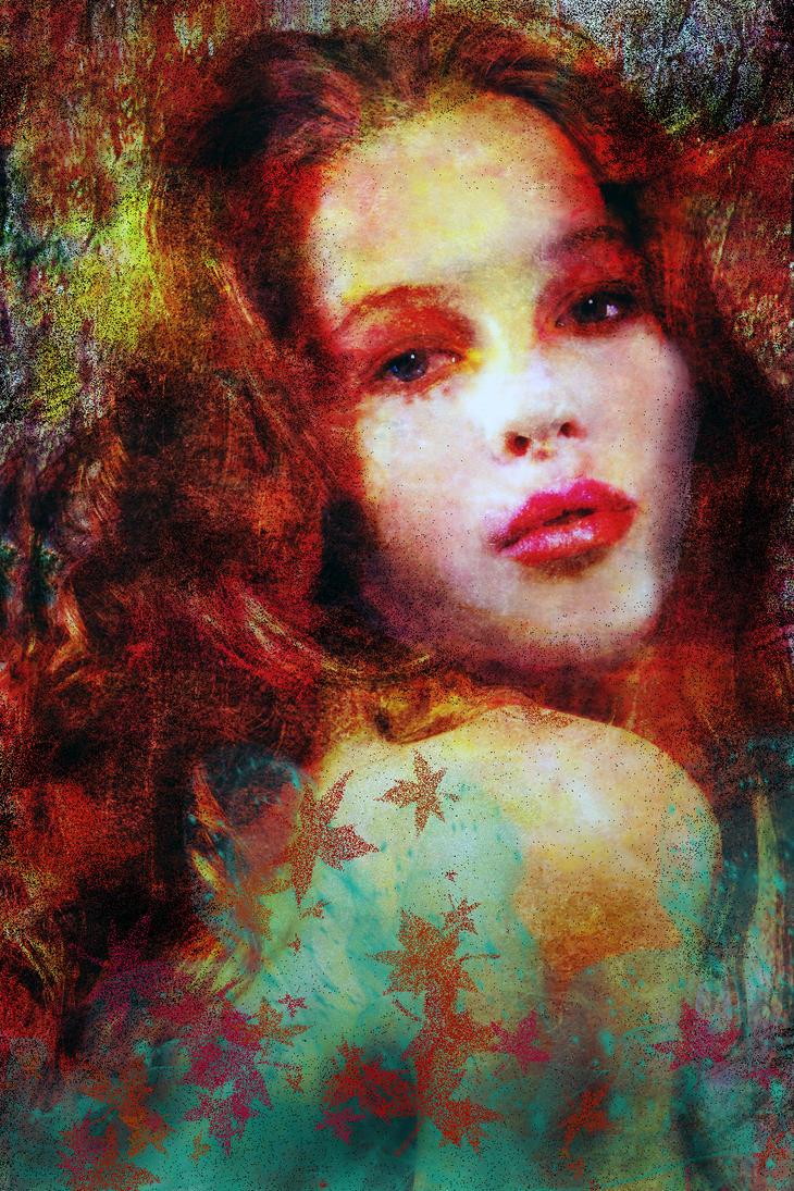 Girl portrait by lyusee