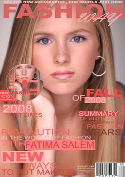 fashionway magazine cover